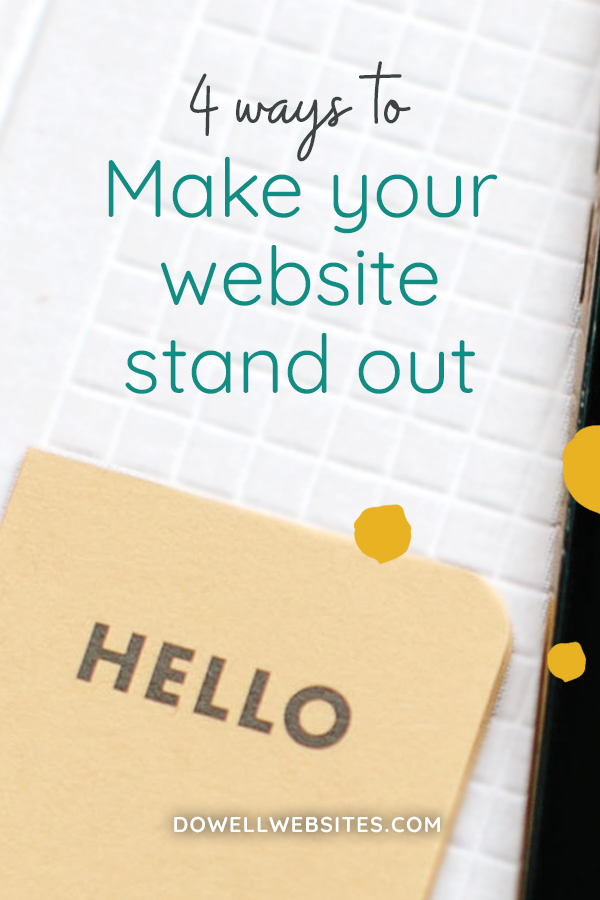 If you've been hanging around here for even just a bit, then you already know I'm all about helping you make your website work for your business. And if it's going to work and get the attention of your audience, you've got to make it stand out in ALL of the online noise.