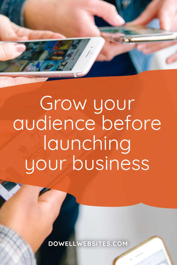 Grow your audience before you launch