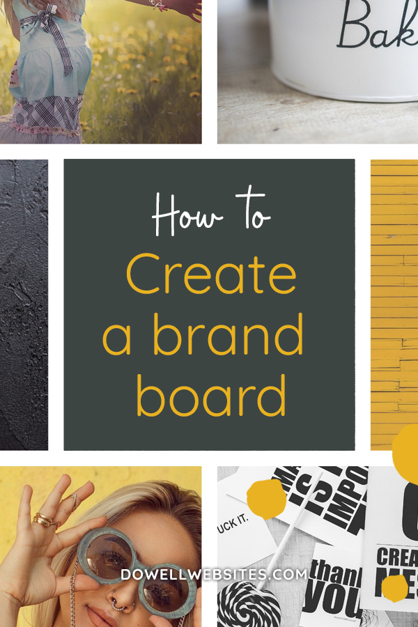 How to create a brand mood board
