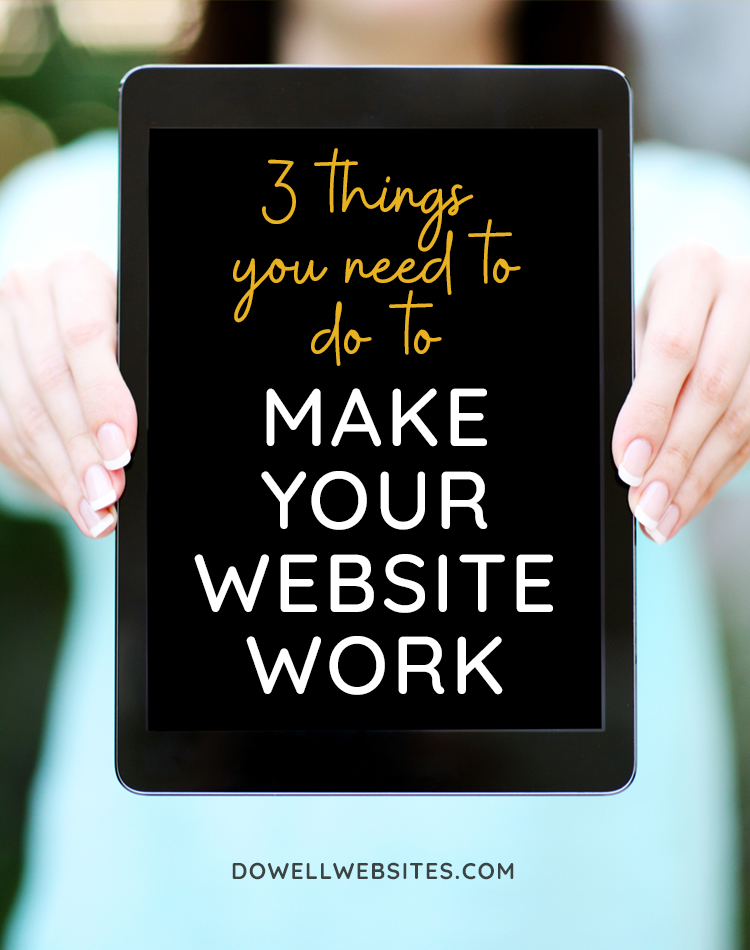 Make Your Website Work