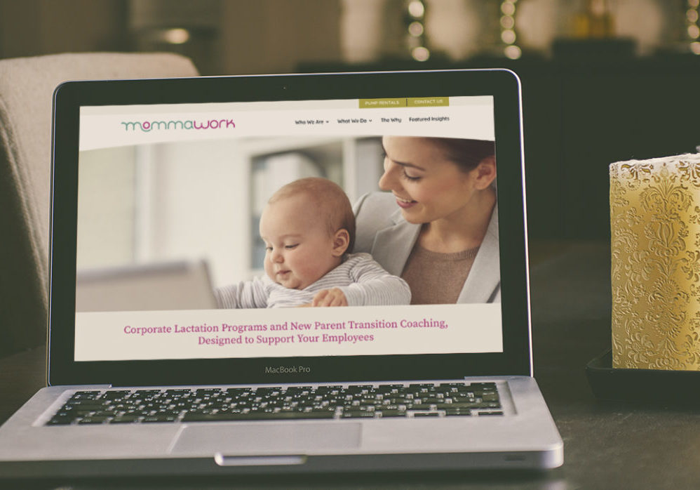 MommaWork website