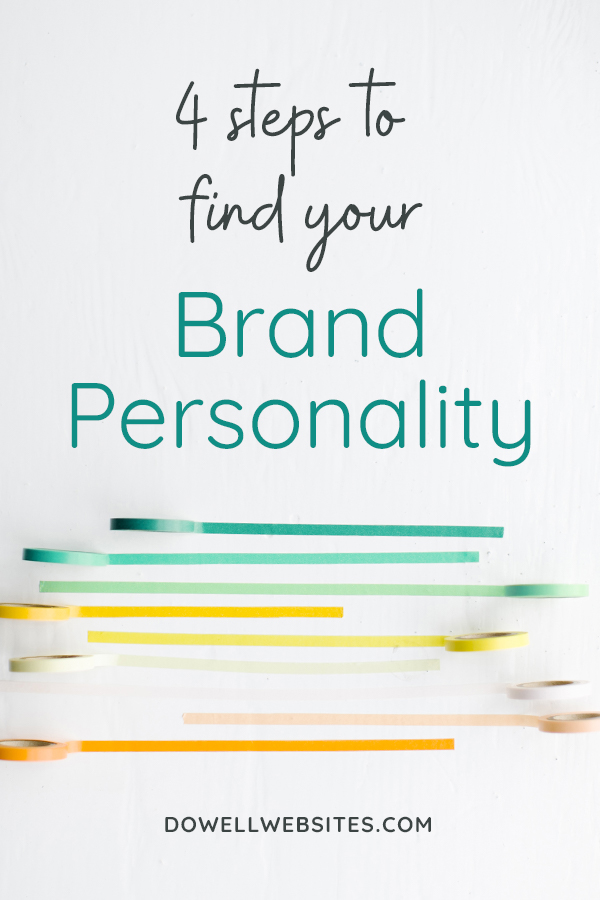 Nail down your brand's personality in 4 simple steps so that your brand appears cohesively across all of your marketing materials. And remember, consistency equals trust — and people buy from those they trust!