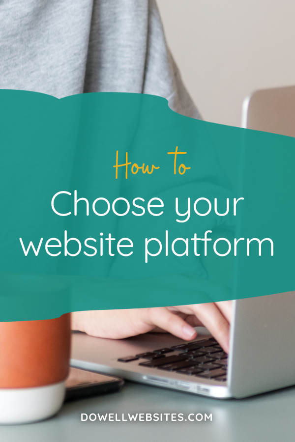 The website platform or builder you choose does matter! But it can be confusing and overwhelming to know which is best for you. Here are 5 things to consider.