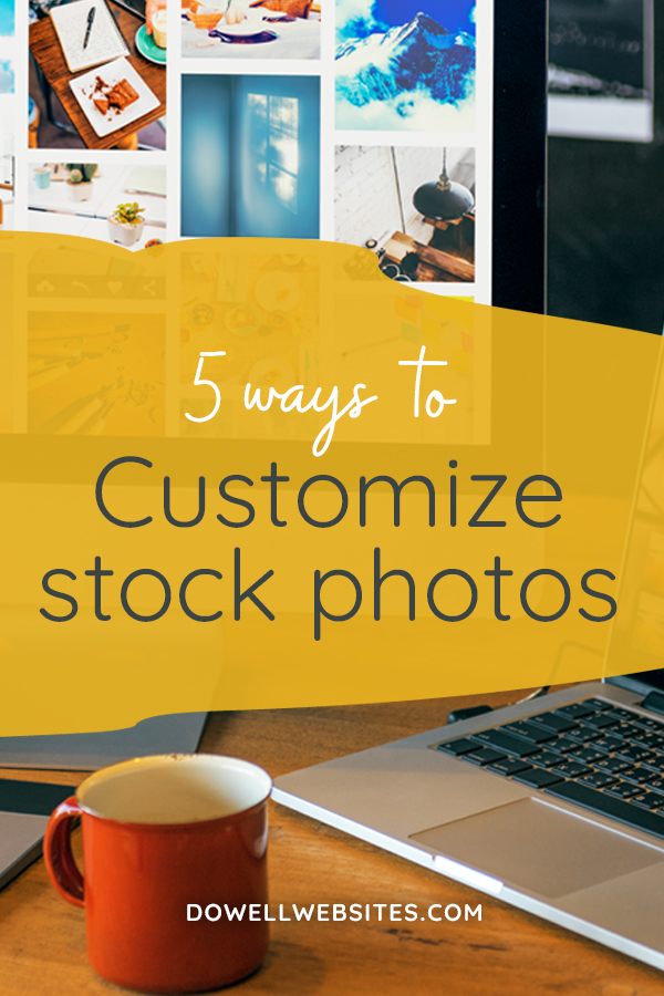 It would be really nice if you could have a photographer follow you around all day to supply you with the perfect custom photo for every occasion, but that's pretty unrealistic. But have you ever chosen a stock photo and then suddenly see it popping up all over? Let's go over 5 easy ways you can make stock photos look more custom so your images don't look so stock-like.