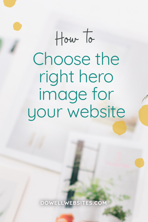 How to choose the right hero image for your website