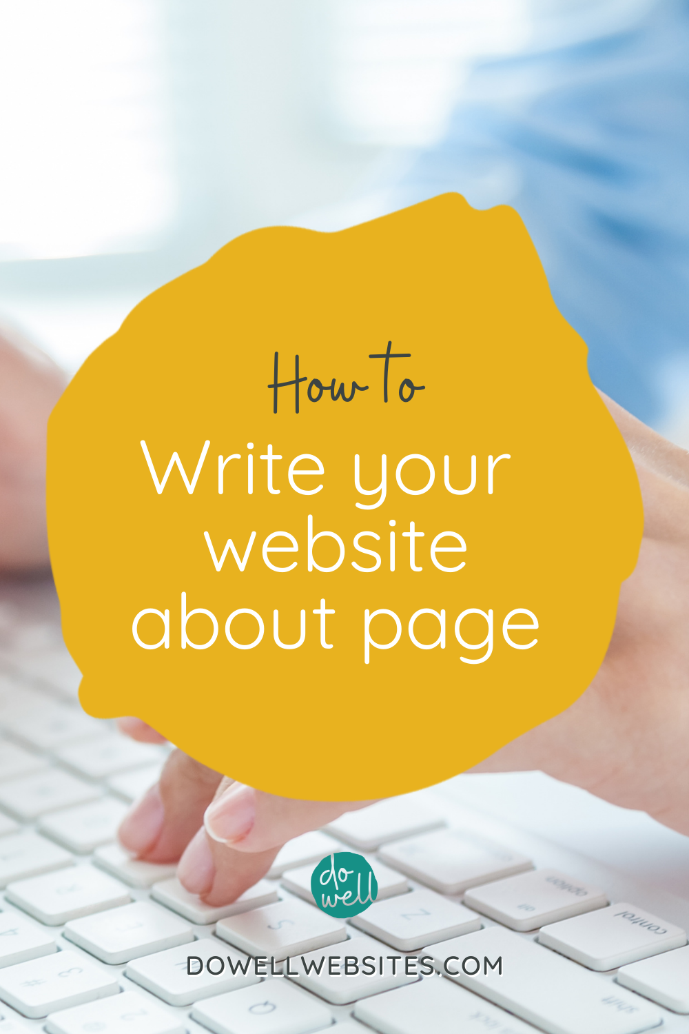 Although your website about page is about you, it needs to be written FOR them. Let's go over 6 tips to write it in a way that connects with your audience.