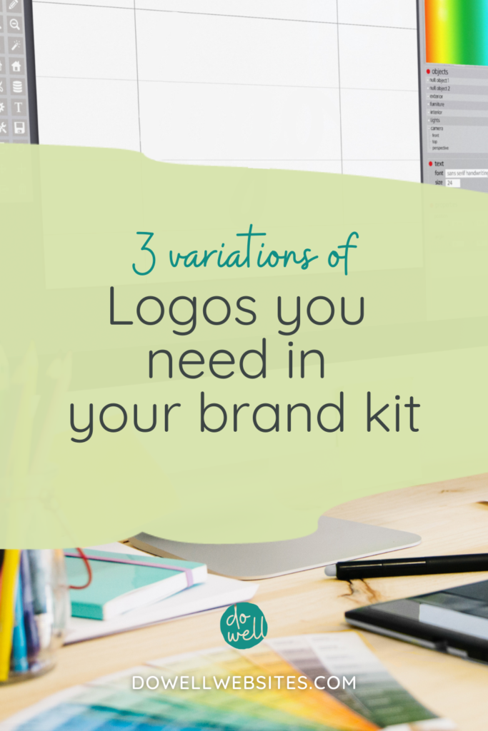 Having logo variations ready to go will make life easier when creating your marketing materials. Learn the 3 different versions to include in your brand kit.