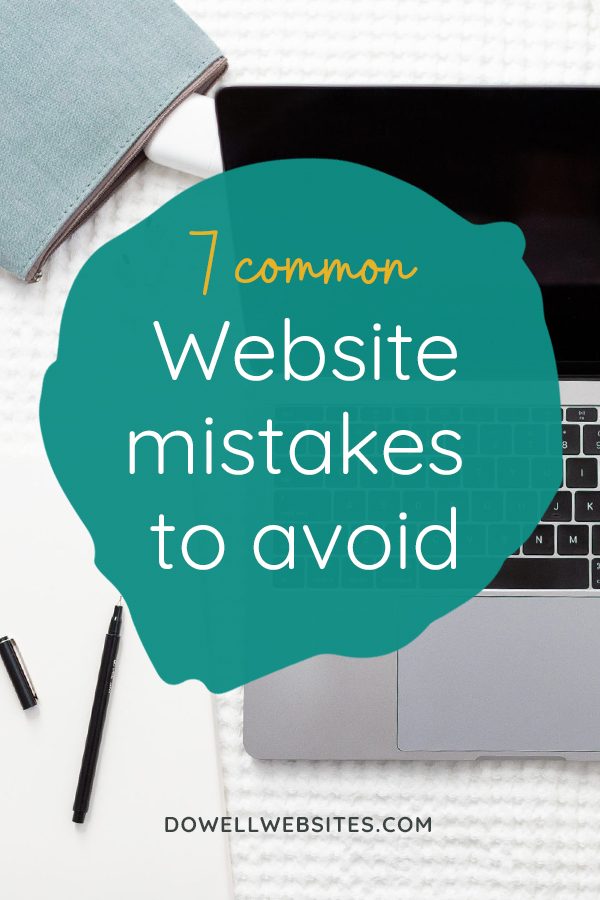 Statistics say that you have less than 10 seconds to hook your visitors when they land on your website. The thing is, it can't just look good to do this. It's got to be clear and compelling if you want to connect with your audience. Let's have a look at 7 of the most common web design mistakes you can avoid.